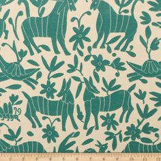 Artistry Fiesta Otomi Jacquard Teal Teal Fabric, Chair Fabric, How To Make Tshirts, Home Decor Fabric, Toss Pillows, Surface Pattern Design, Vintage Colors, Designs To Draw, Textures Patterns
