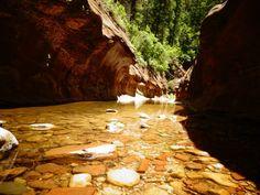 Hiking In Sedona, Arizona Visit Sedona, Sedona Arizona, Waterfall, Places To Visit, Fork, Hiking, Adventure, Vacation, Travel