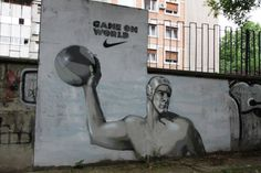 waterpolo graffiti