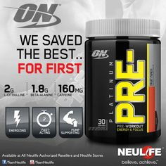#ON Platinum Pre #PreWorkout #Focus #TNL Product Ads, Beta Alanine, Fruit Punch, Acting, Alcoholic Fruit Punch