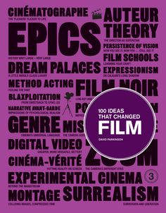100 ideas that changed film - david parkinson, 2012 [brain pickings book review article]