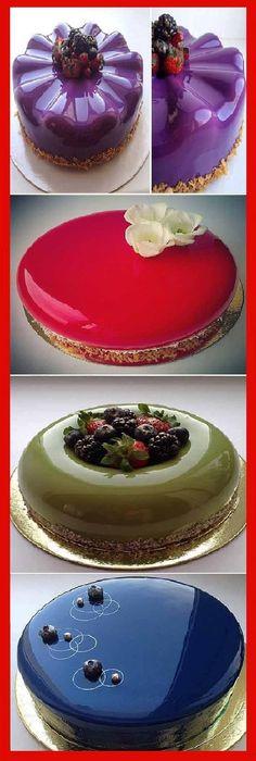 Como Hacer Cubierta de Vidrio para Pasteles Lujo Espejo! #receta #recipe #casero #torta #tartas #pastel #nestlecocina #bizcocho #bizcochuelo #tasty #cocina #cheescake #helados #gelatina #gelato #flan #budin #pudin #flanes #pan #masa #panfrances #panes #panettone #pantone #panetone #navidad #chocolate Si te gusta dinos HOLA y dale a Me Gusta MIREN...