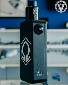Here's another look at the HexOhm 3.0 30Amp Box Mod, this time with the Recoil RDA by Grimm Green/OhmboyOC sitting on top of it. This high quality 22mm atomizer is another new arrival at EVCigarettes and features a 7mm deep juice well, static airflow, a 4 post build deck, and a gold-plated brass positive pin for efficient power transfer. The Recoil RDA also comes with 2 top caps which are designed to either enhance your flavor or boost dense cloud production. Click over to the EVCigarette...