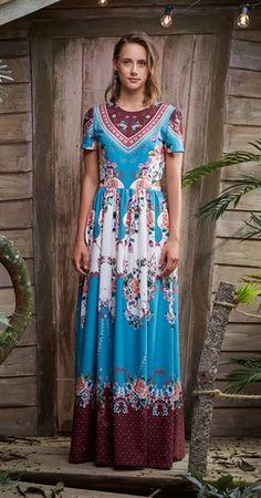 Vestido Longo Flora I