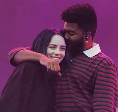 billie & khalid on stage together at Source: billie's ig story PLEASE tag & Billie Eilish, Ed Sheeran, Indie, She Song, Her Music, My King, Favorite Person, Me As A Girlfriend, Music Artists
