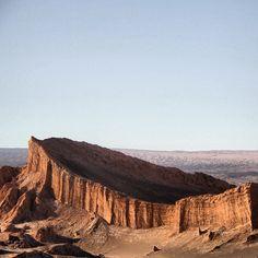 Valle de la Luna, San Pedro de Atacama, II Región. Fotografía de Anita Balmaceda