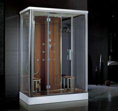 Cabine de banho para duas pessoas da Unique SPA, modelo Oslo (www.uniquespa.com.br)