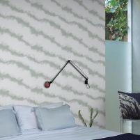 Smoke Wallpaper by alizamiri Scandinavian Wallpaper, Scandinavian Design, Smoke Wallpaper, Deep Winter, Elle Decor, Designer Wallpaper, Wallpapers, Cool Stuff, Modern
