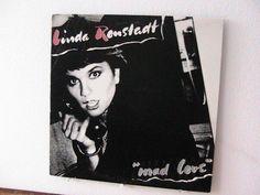 Vintage Linda Ronstadt LP  Mad Love by KackleberryFarm on Etsy