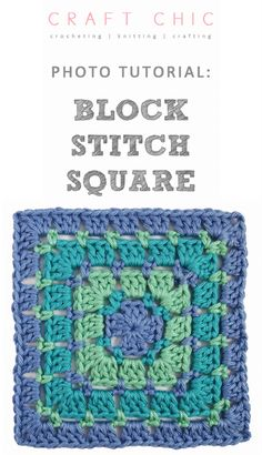 Baby Elephant Super ccrocheting Free Crochet Pattern - an old crochet pattern for a forever classic block stitch granny square Crochet Quilt, Crochet Blocks, Crochet Motif, Crochet Crafts, Crochet Yarn, Crochet Stitches, Crochet Projects, Free Crochet, Granny Square Crochet Pattern