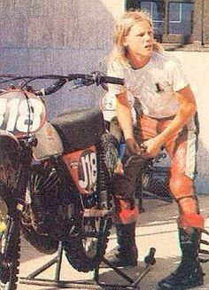1975 - A Young Broc Glover and his Honda Elsinore - Vintage Motocross Champions