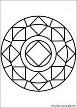 easy simple mandala 85 coloring pages printable and coloring book to print for free. Find more coloring pages online for kids and adults of easy simple mandala 85 coloring pages to print. Easy Coloring Pages, Flower Coloring Pages, Mandala Coloring Pages, Free Printable Coloring Pages, Coloring Sheets, Coloring Books, Coloring Worksheets, Mandala Design, Geometric Mandala