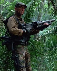 Poncho from Predator. Played by Richard Chaves