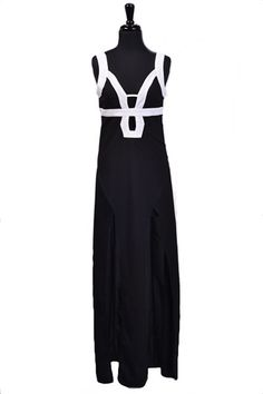 Captivated By You Maxi Dress - Black
