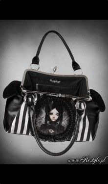 Grey Doll Gothic Lolita Bag
