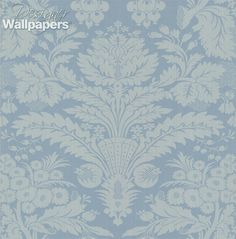 Taking its name from the charming Derbyshire village, Taddington is a two tone damask pattern with a large elaborate motif.  Traditional and inviting, this wallpaper will charm and impress with its lavish floral flourishes.