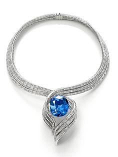 The Hope Diamond Necklace: Le Diamond Winston Legacy 101 carats d'Harry Winston