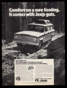 1972 Amc Jeep Wagoneer Photo It Comes With Guts Ad Ebay