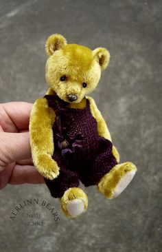 Miniature Bear 'Surly' from Aerlinn Bears