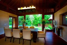 Villa Champuhan Bali Dining Rooms Villas Decorating Gardens Interiors