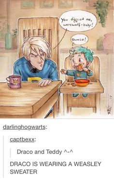 Draco and Teddy Part 1
