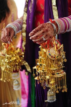 henna, bangles, Indian wedding