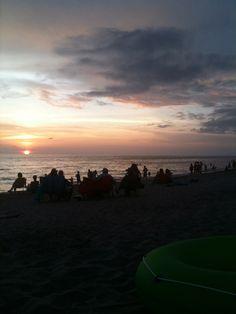 sunset at Sharkey's, Venice Florida pre July 4th celebrations
