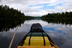 Because you've never felt as peaceful as when you're canoeing on one of Maine's pristine lakes.