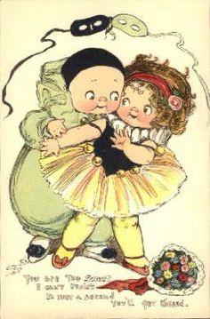 Dolly Dingle..G Drayton vintage postcard