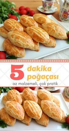 Pastry recipe in 5 minutes - so easy i . - Pastry recipe in 5 minutes – It& so easy to bake pastries – Delicious recipes, bake - Donut Recipes, Pastry Recipes, Cake Recipes, Turkish Kitchen, Good Food, Yummy Food, Easy Delicious Recipes, Turkish Recipes, International Recipes