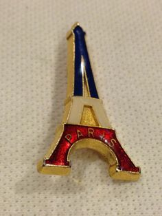 Eiffel Tower Paris France Pin