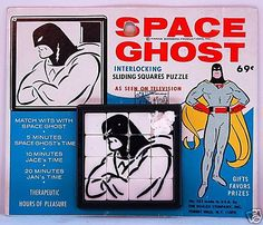 SPACE GHOST ROALEX SLIDE PUZZLE