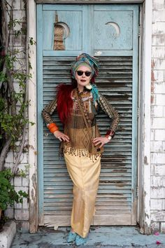 """Purely Patricia In Central Park (Advanced Style) - Outside The Ivy THIS is the way to be """"older"""" !"""