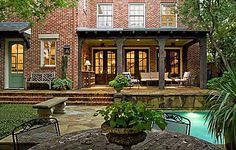 can't you just picture yourself spending crisp fall evenings in this back yard haven?