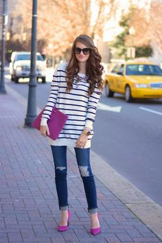 18 Different Casual Winter Outfit Ideas @  www.wearitforless.com