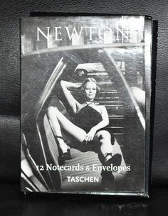 Helmut Newton # 12 NOTECARDS & ENVELOPES # 2000, nm+