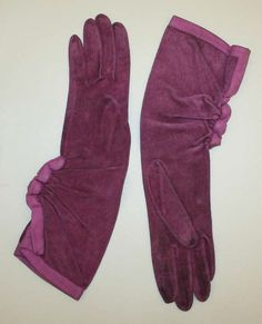 Gloves, Hermès (French, founded 1837): 1930's, French, leather.