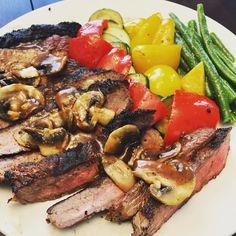BBQ burnt my steak :( #steak #bbq #cooking #food #foodporn