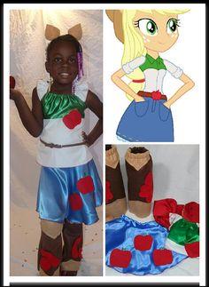 Apple Jack Costume  https://www.etsy.com/listing/203523981/apple-jack-my-little-pony-inspired-look
