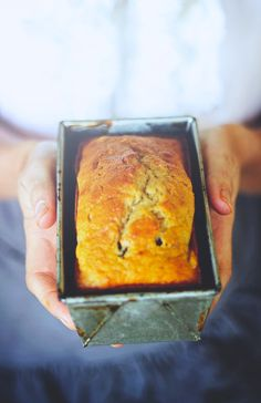 Healthy Banana Bread for One!
