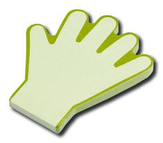 Hand memoblokken. Kijk voor inspiratie op www.limegifts.nl