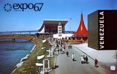 #Venenzuela #Pavilion and #USSR #Pavilion at #Expo67 #Montreal #Quebec #Canada