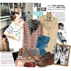 long sleeved t-shirt; Tip-Toe Through the Garden Bootie; French Fashion, High Fashion, Autumn Winter Fashion, Winter Style, Geek Chic, Fall Looks, Winter Wardrobe, Style Me, Cute Outfits