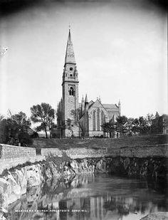 Mariners church, Moran park Dunlaoghaire (Kingstown) Co Dublin. Michael Church, Photo Engraving, Dublin City, Old Photos, Notre Dame, Big Ben, Ireland, Past, Building