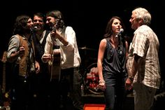 Scott, Seth, Bonnie & Jim Avett with Bob Crawford | Flickr - Photo Sharing!