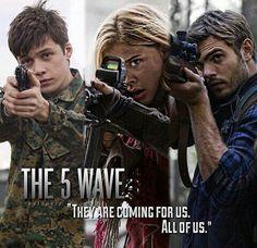 Cassie, Zombie and Evan | Instagram @theinfinitestar | #5thwavemovie