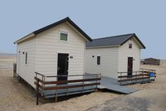 Breezand wheelchair accessible Beachhouses (the Netherlands)