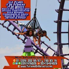 Acompáñanos este 5 de febrero a la #xcursión a #SixFlags saliendo de #Veracruz #cardel y #Xalapa  Más información en: Tels: 01 (229) 202 65 57 y 150 83 16 PRIP ID: 52 * 15 * 64029 Cel - WhatsApp - Line - Google Allo: 2291476029 BB Pin #7A43560A Email / Hangouts: turismoenveracruz@gmail.com Link http://www.turismoenveracruz.com/six-flags.htm