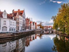 the most beautiful city in the world Bruges-Belgium