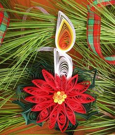 Gorgeous and only $7.  ThisEtsy Shop is to die for! Christmas Ornaments  Christmas Tree Decoration  by tsipouritsa, $7.00